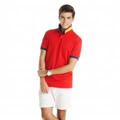 Country Short Sleeve Technical Polo Shirt