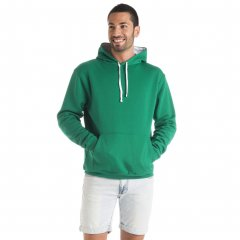 Urban Sweatshirt With Two Color Hood