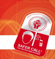 Safer Call EMF Protection Sticker