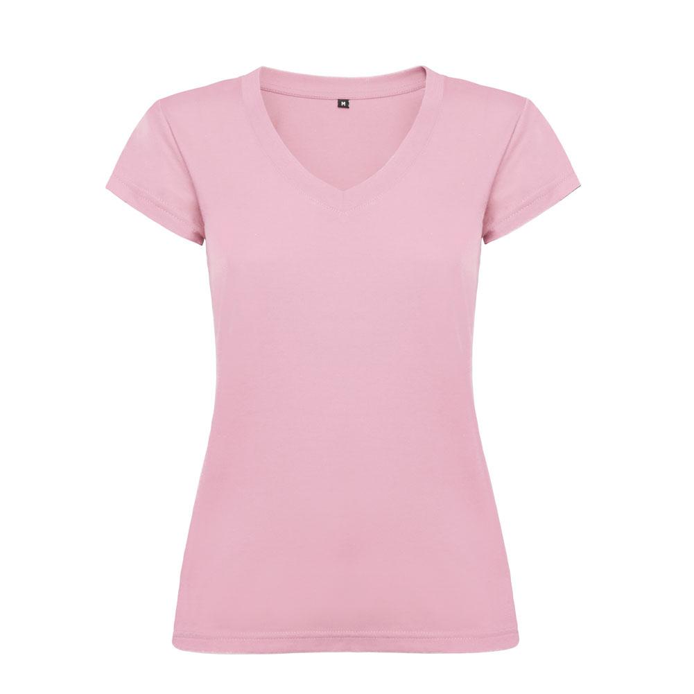 Victoria Slim Fit Short Sleeve T-shirt V-neck Slim Fit ...