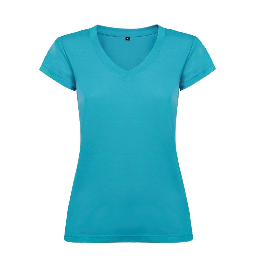 Victoria Slim Fit Short Sleeve T Shirt V Neck Slim Fit