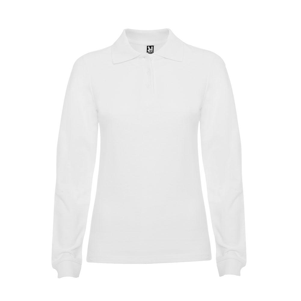 Estrella Slim Fit Long Sleeve Polo Shirt Wholesale Woman