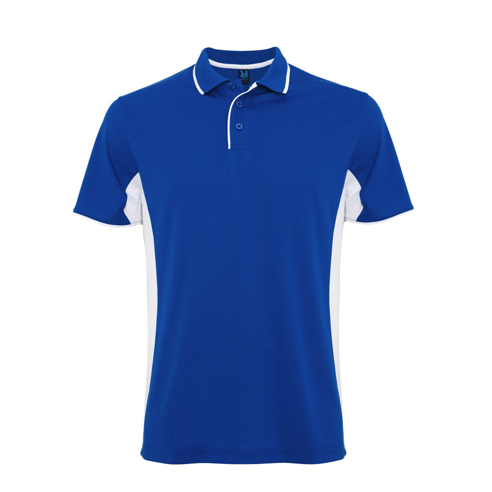 Montmelo Two Color Short Sleeve Polo Shirt Montmelo Two
